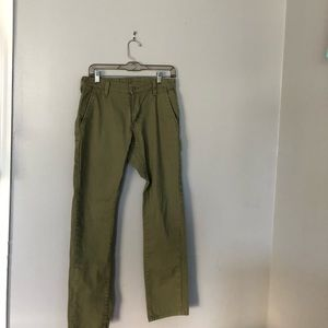 Levi's | 511 skinny army green jeans | 31/32